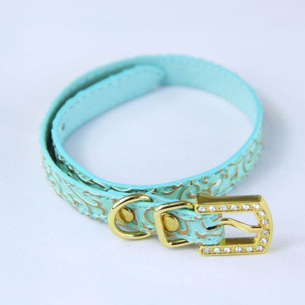 Green cat collar