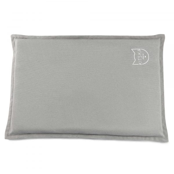 Rectangular grey cat bed