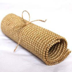 Roll of sisal tied with bow